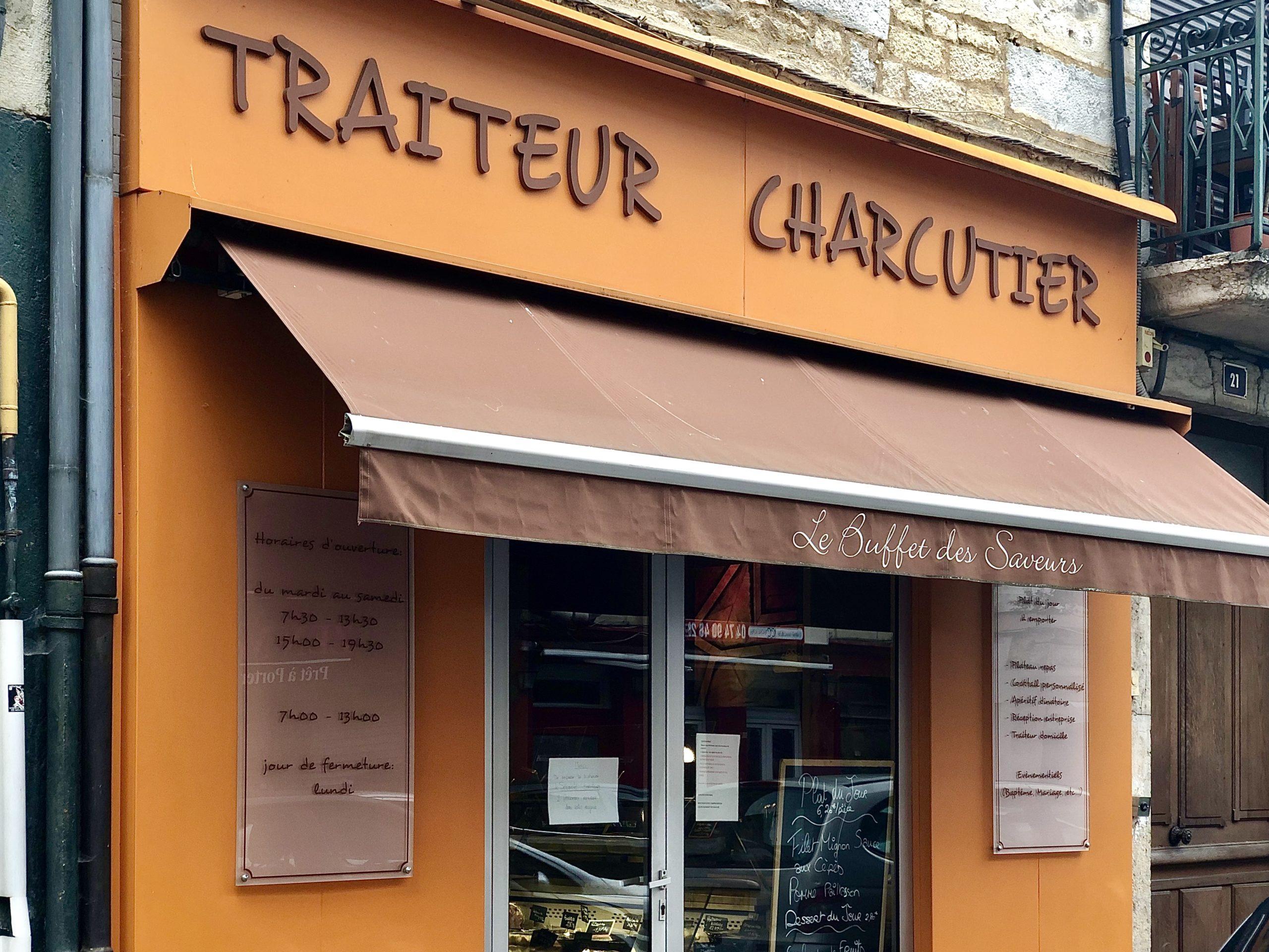 facade, traiteur, bourgoin, charcutier